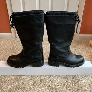 LL Bean leather winter boots